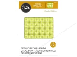 embossing folders: Sizzix Textured Impressions Embossing Folders 1 pc. Quilted Diamonds