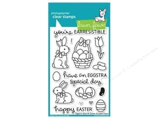 Clearance Plaid Stamps Clear: Lawn Fawn Clear Stamp Eggstra Special Easter