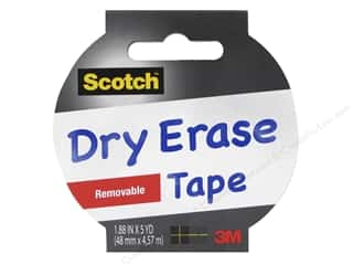 "Scotch Tape Dry Erase 1.88""x 5yd"