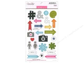 Bella Blvd Color Chaos Chipboard Symbols