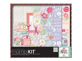 "stickers: Me&My Big Ideas Album Kit Box 12""x 12"" Baby Girl"