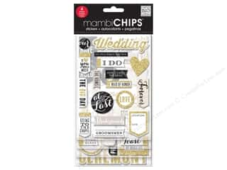 Me&My Big Ideas Sticker Designer Chipboard Our Wedding