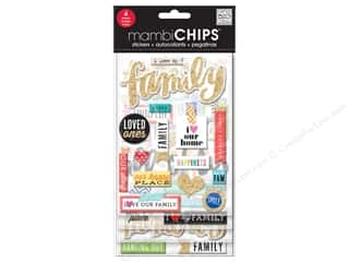 scrapbooking & paper crafts: Me&My Big Ideas Sticker Designer Chipboard Chips I Love My Family