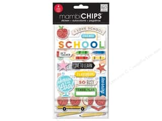 scrapbooking & paper crafts: Me&My Big Ideas Sticker Designer Chipboard I Love School