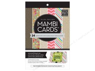 "Clearance Me And My Big Ideas Mini Envelopes: MAMBI Cards In An Instant Card Pad 5""x 7"" Confetti & Kraft"