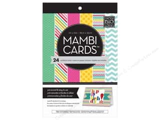 "Me : MAMBI Cards In An Instant Card Pad 5""x 7"" Bright & Fun"