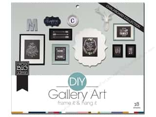Clearance Me And My Big Ideas Envelopes: MAMBI DIY Gallery Art Pad Chalkboard
