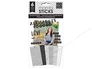 scrapbooking & paper crafts: Me & My Big Ideas Sticks Alphabet & Word Stickers You Are The Best