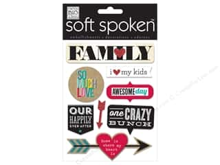 Me & My Big Ideas Soft Spoken Stickers Family So Much Love