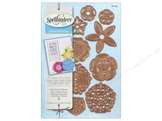 Clearance Die Cuts with a View Stacks: Spellbinders Shapeabilities Die Tudor Rose Collection