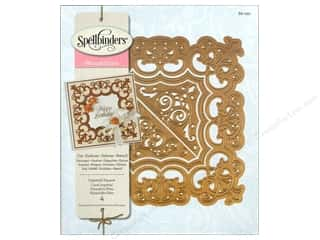 scalloped edge mirror: Spellbinders Nestabilities Die Imperial Square