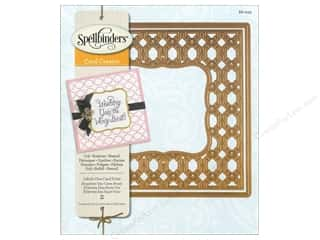 Spellbinders Card Creator Die Labels One Card Front
