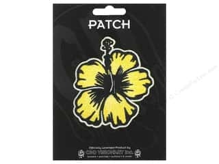 C&D Visionary Applique Yellow Hibiscus
