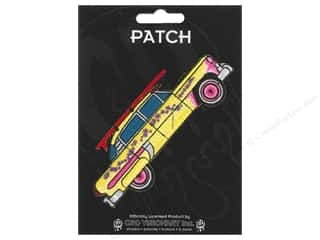 Clearance C&D Visionary Patches: C&D Visionary Applique Car with Surfboard