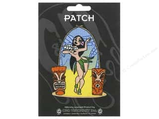 Clearance C&D Visionary Patches: C&D Visionary Applique Hula Girl