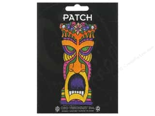 Clearance C&D Visionary Patches: C&D Visionary Applique Flower Head Tiki