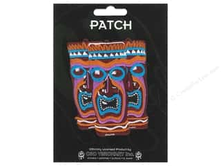 Clearance C&D Visionary Patches: C&D Visionary Applique Triple Tiki