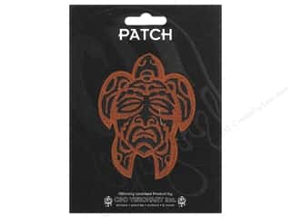 Clearance C&D Visionary Patches: C&D Visionary Applique Maori Turtle Mask