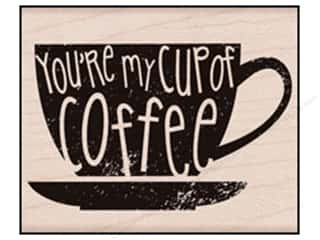 Cups & Mugs: Hero Arts Rubber Stamp You're My Cup Of Coffee