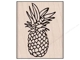 Rubber stamps: Hero Arts Rubber Stamp Pineapple