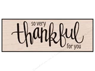 Hero Arts Rubber Stamp Thankful