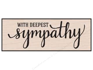 scrapbooking & paper crafts: Hero Arts Rubber Stamp With Deepest Sympathy