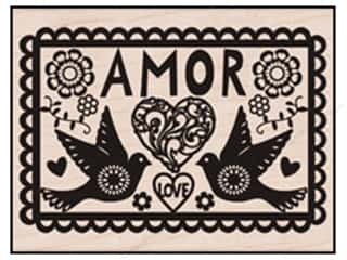 Rubber stamps: Hero Arts Rubber Stamp Amor