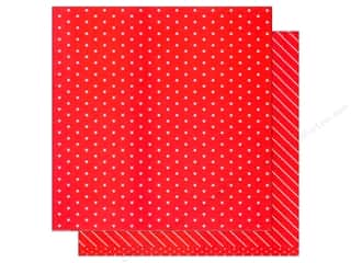 scrapbooking & paper crafts: American Crafts 12 x 12 in. Paper Basics Stars Red (12 sheets)