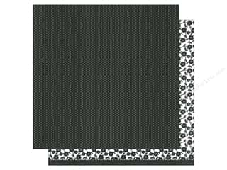 patterned paper: American Crafts 12 x 12 in. Paper Basics Tiny Dots Black (12 sheets)