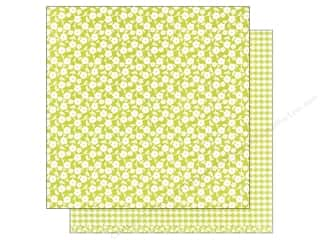 patterned paper: American Crafts 12 x 12 in. Paper Basics Floral Lime (12 sheets)