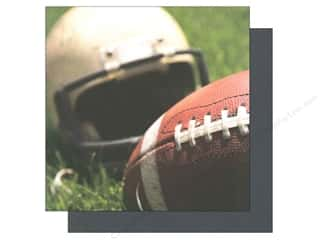 helmet: American Crafts 12 x 12 in. Paper Sports Photo Football & Helmet (12 sheets)