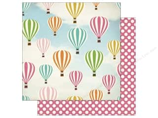 Stock Up Sale Cardstock: Carta Bella 12 x 12 in. Paper Soak Up The Sun Hot Air Balloons (25 sheets)