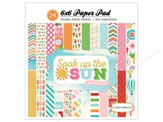 Stock Up Sale Cardstock: Carta Bella 6 x 6 in. Paper Pad Soak Up The Sun