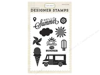 scrapbooking & paper crafts: Carta Bella Designer Stamps Soak Up The Sun