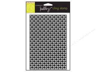 scrapbooking & paper crafts: Hero Arts Cling Stamp Kelly's Background Tile