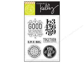 Hero Arts Poly Clear Stamps Kelly's Live Big