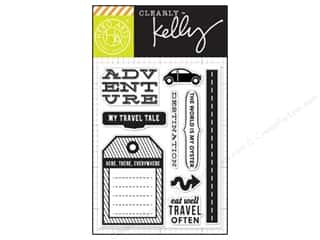 stamps: Hero Arts Poly Clear Stamps Kelly's Destination