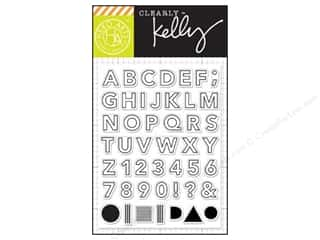 stamp: Hero Arts Poly Clear Stamps Kelly's Outline Letters