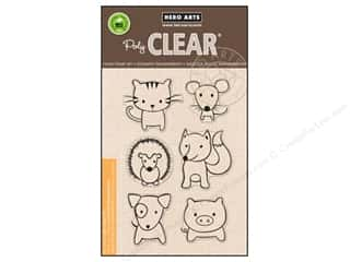 scrapbooking & paper crafts: Hero Arts Poly Clear Stamps Playful Animals
