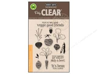 stamp cleared: Hero Arts Poly Clear Stamps Your Own Salad