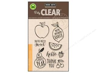 stamp cleared: Hero Arts Poly Clear Stamps Your Own Fruit