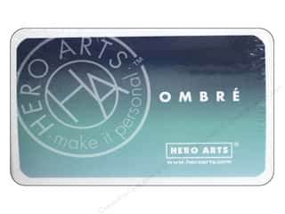 ink pads: Hero Arts Ink Pad Ombre Pool/Navy