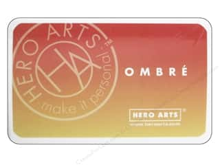 ombre ink pad: Hero Arts Ink Pad Ombre Butter/Orange