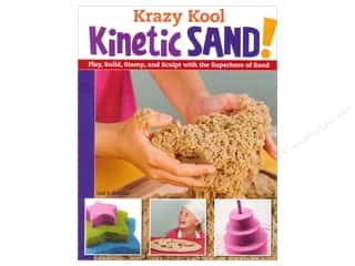 books & patterns: Krazy Kool Kinetic Sand! Book