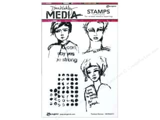 stamps: Ranger Dina Wakley Media Stamp Positive Women