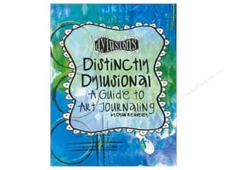 paper craft books: Ranger Distinctly Dylusional Guide to Art Journaling Book