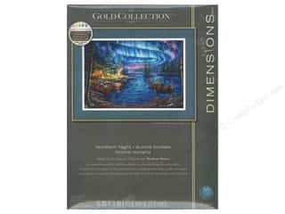 Weekly Specials Leisure Arts Loop-D-Doo Kits: Dimensions Counted Cross Stitch Kit 16 x 11 in. Northern Night