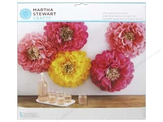 Martha Stewart Decorative Pom Pom Poppy Flowers Kit