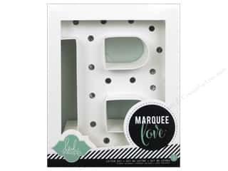 "Everything You Love Sale: American Crafts Heidi Swapp Marquee Love Letter Kit 8 1/2 in. ""B"""
