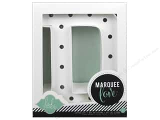 "craft & hobbies: Heidi Swapp Marquee Love Letter Kit 8 1/2 in. ""D"""